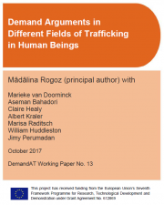 arguments against human trafficking